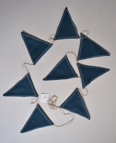 banderines habitacion bebe azul