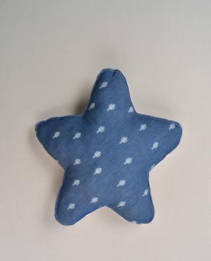 cojín bebé infantil decoración estrella cactus vaqueros