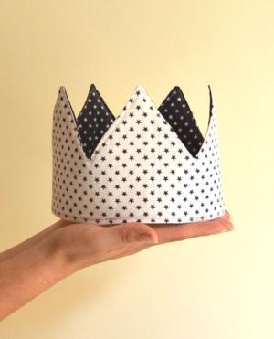 corona cumpleaños reversible estrellas